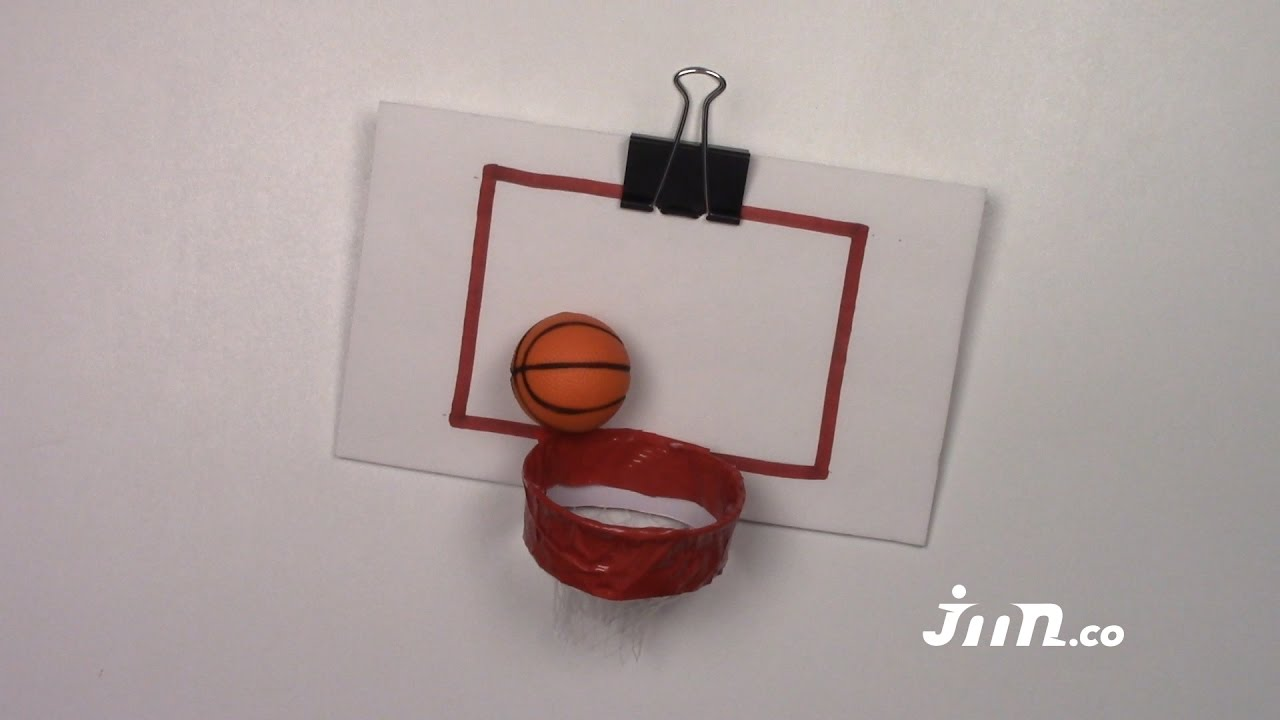 How to make a basketball hoop make it or bake it youtube for How to build a basketball goal