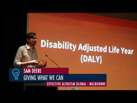 Sam Deere - Giving What We Can to Eradicate Global Poverty - EA Global Melbourne 2015