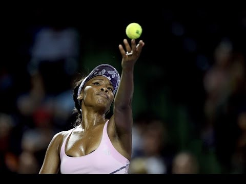 2017 Miami Open Round of 16 | Venus Williams vs Svetlana Kuznetsova | WTA Highlights