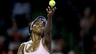 2017 Miami Open Round of 16   Venus Williams vs Svetlana Kuznetsova   WTA Highlights