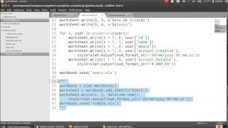 Aulão Python Excel