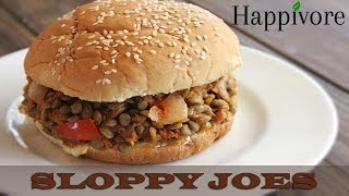 Happivore - Vegan Sloppy Joes