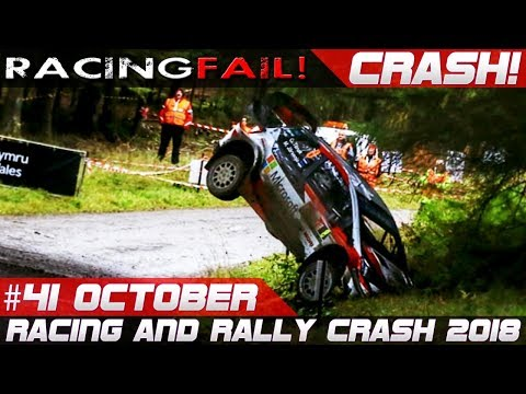 Racing and Rally Crash   Fails of the Week 41 October 2018