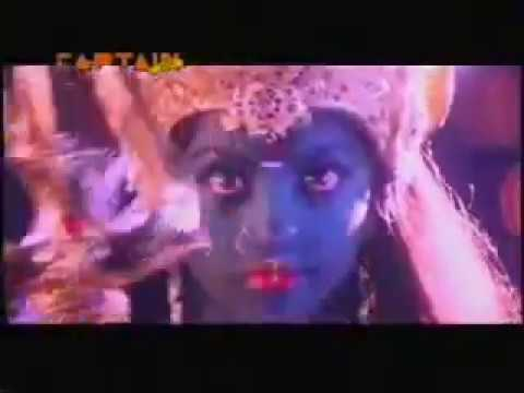 Meena as Goddess Durga