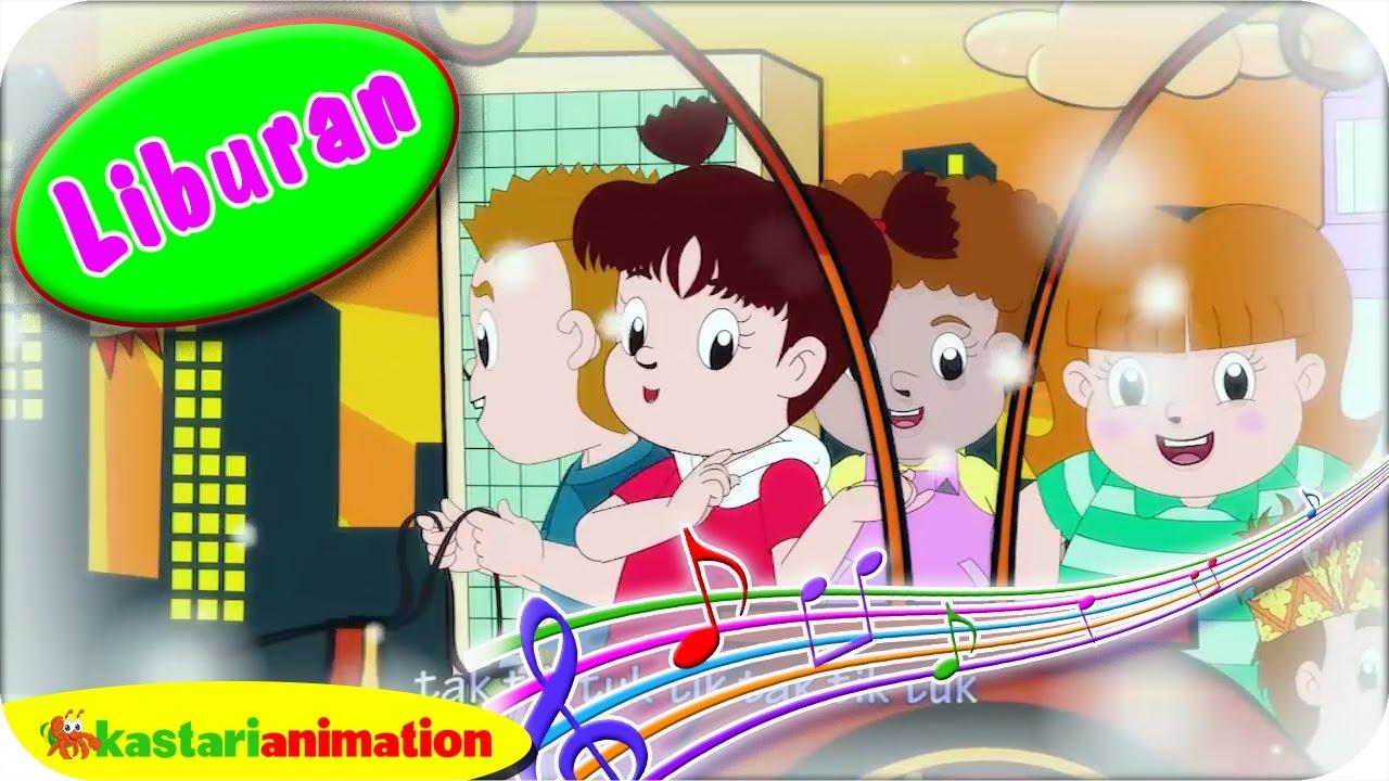 Diva Waktunya Liburan Lagu Anak Indonesia | Kastari Animation Official
