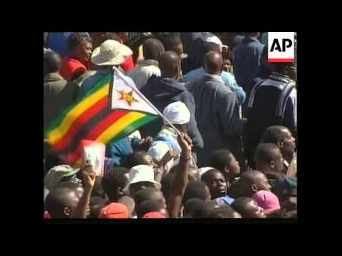 ZIMBABWE: FUNERAL OF VICE PRESIDENT JOSHUA NKOMO