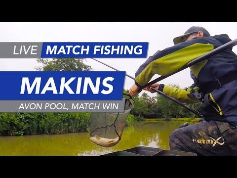 Live Match Fishing: Makins Fishery, Avon Pool, Match Win