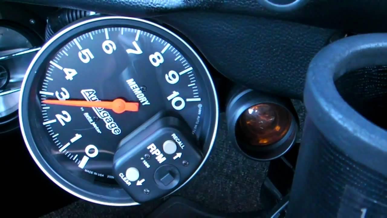 vw beetle 1641cc auto gage 233906 by auto meter vdo gauges [ 1280 x 720 Pixel ]