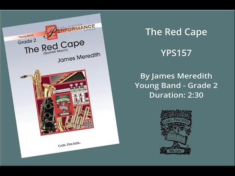 The Red Cape (YPS157) by James Meredith