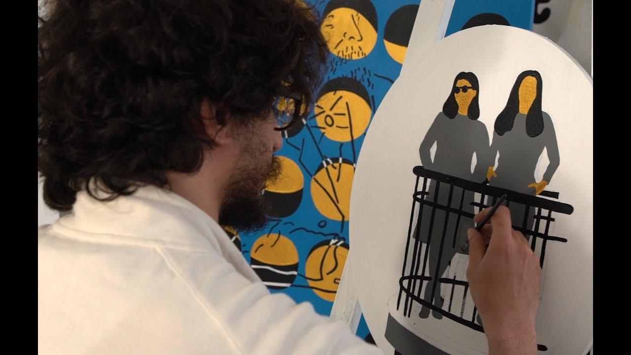 ραντεβού με έναν καλλιτέχνη γκράφιτι η χρονολόγηση του άνθρακα-14 σε πέτρες