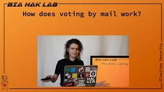 DEF CON Safe Mode Voting Village - BiaSciLab - Don't Go Postal