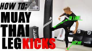 How To | Outside Low Leg Kick with TJ Dillashaw