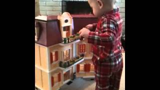 Dollhouse Christmas Morning