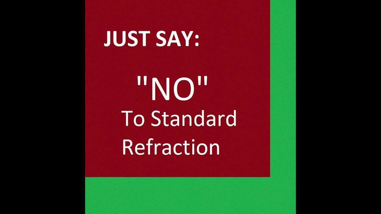 Just say no to refraction flat earth youtube just say no to refraction flat earth malvernweather Gallery