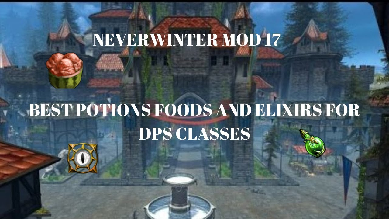 Neverwinter Mod 17 What Are The Best Potions For Dps Youtube