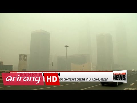 Pollution from China linked to 30,900 premature deaths in S. Korea, Japan