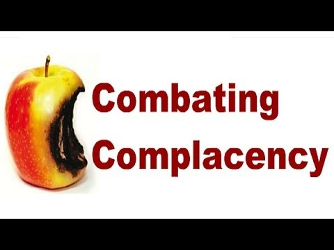 """Combating Complacency - Individual & Organizational Remedies - FAA/EASA """"MAG"""" Compliant"""