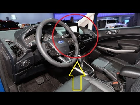new exterior 2018 ford ecosport pictures see interior exterior youtube. Black Bedroom Furniture Sets. Home Design Ideas