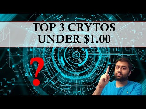TOP 3 CRYPTOCURRENCIES Under $1.00 | Live Trading | Cryptoso