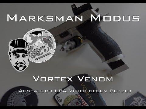 MARKSMAN MODUS | SIG Sauer P226 X-Five • Montage Red Dot Vortex Venom •