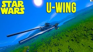 Space Engineers | U-Wing Starfighter - STAR WARS!
