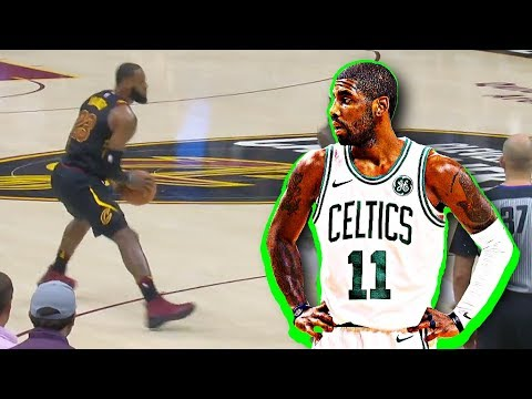 LeBron James Impersonates Kyrie Irving