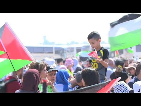Palestinianos assinalam Nakba