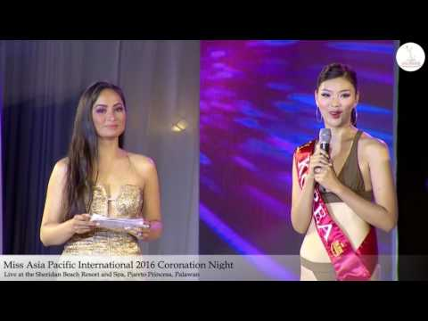 Part 7 - Miss Asia Pacific International 2016 Coronation Night