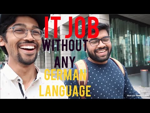 He Got IT Job In Berlin Without The German Language (PART 1)