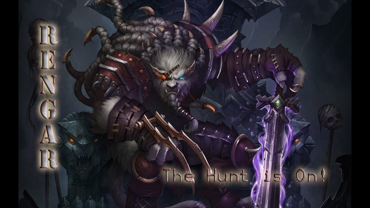 Rengar - League of Legends free desktop backgrounds and wallpapers