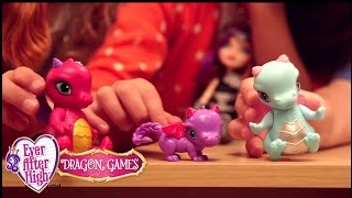 Let's play dragon games! | ever after high