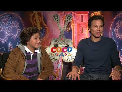 Coco Interview: Benjamin Bratt and Anthony Gonzalez