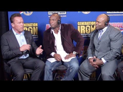 Flex Wheeler & Kai Greene Interview Arnold Schwarzenegger |  Arnold Classic 2017