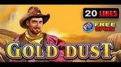Gold Dust - Slot Machine - 20 Lines + Bonus