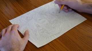[ASMR] Binaural Pattern Drawing