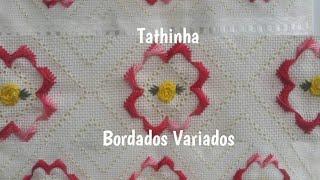 FLOR FEITA COM PONTO RODHES – Tathinha Bordados