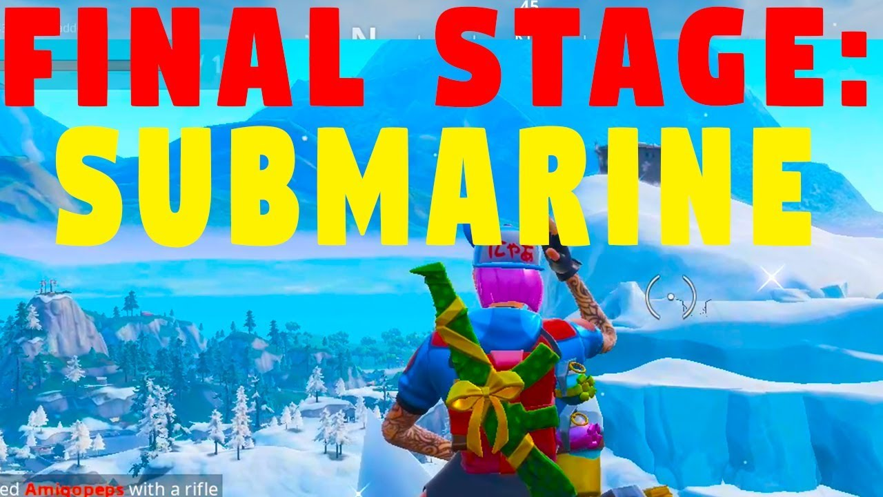 Final Stage Dance On Top Of A Submarine Week 1 Challenges