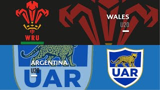 U20s Highlights: Wales beat Argentina