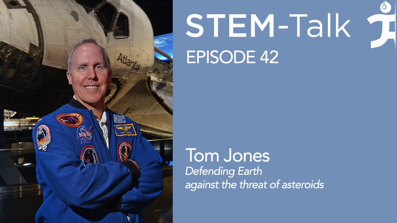 Episode 42 Tom Jones discusses defending Earth
