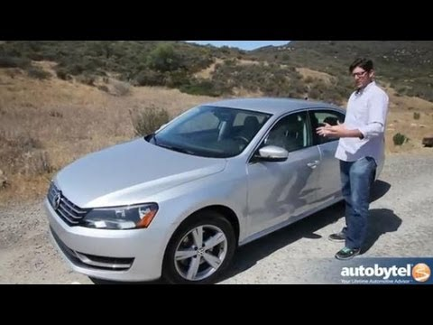 2013 Volkswagen Passat TDI Test Drive Turbo Diesel Car Video Review