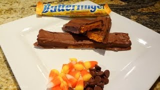 Butterfinger Candy Bar Done Right - Recipe