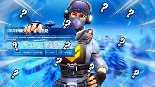 LIVE FORTNITE PART PERSO GAGNE TON PAS OF COMBAT '10 TOP 1 AND TU WIN TON PASSE'!