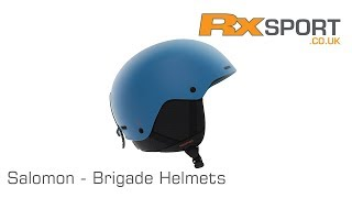 Salomon Brigade Helmets | In Review With RxSport
