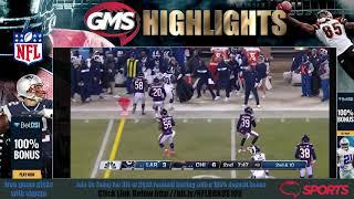 GMS Los Angeles Rams vs Chicago Bears - FULL HD GAME Highlights Week 14