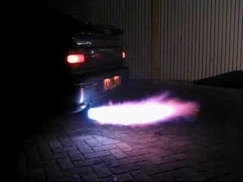 Flame Exhaust Kit Youtube