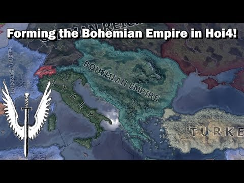 Forming the Bohemian Empire in Hoi4 (Speedrun/Timelapse) [Waking the Tiger DLC]
