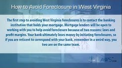 How to stop foreclosure in West Virginia