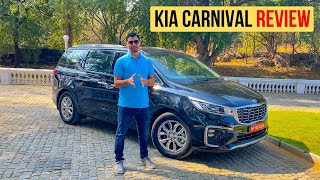 kia Carnival 2020 Review (Hindi): Toyota Vellfire    ?