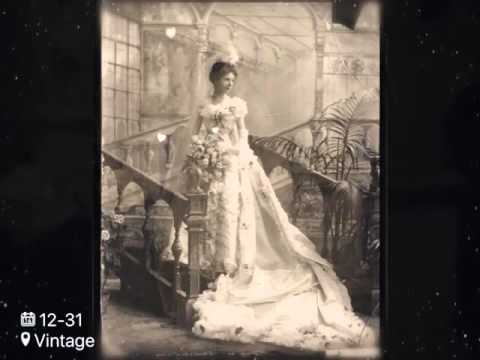 Vintage photos of brides