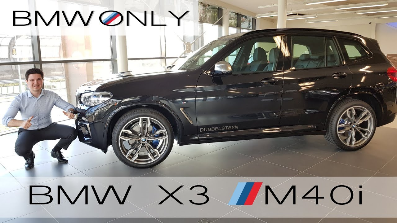 Bmw X3 M Sport >> 2018 BMW X3 M40i – BRUTAL Exhaust Sound – Full Interior ...